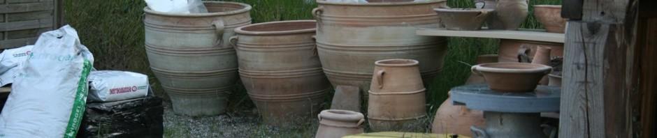 Græske krukker i mange størrelser og udformninger