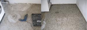 Prøv en reparation af terrazzogulv fra Terrazzomanden